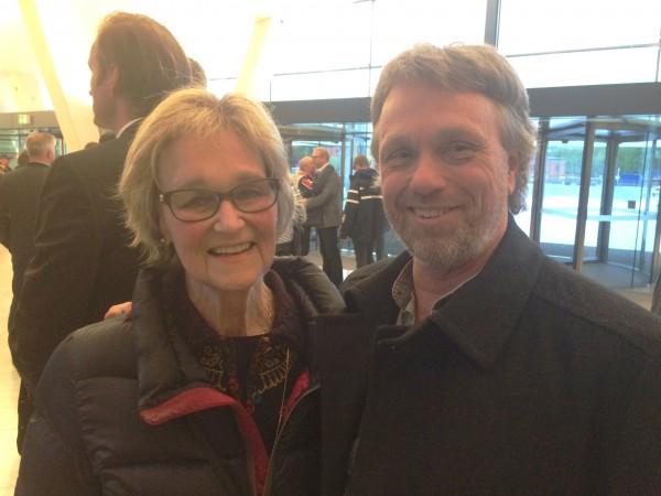 Elegant par med mange ballett år bak seg. Anne Borg og Ketil Gudim, Ballettskolen 50 år. foto Henning Høholt