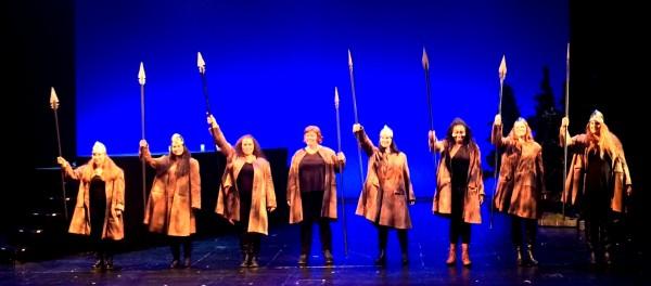 Applause photo: 8 Walküries, foto Henning Høholt, 3.7.15.