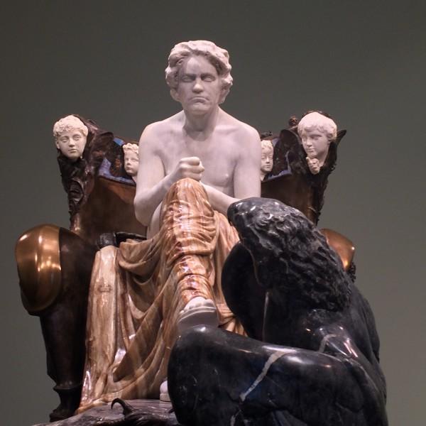 Max Klinger´s famouse Beethoven Statue in Museum der Bildenden Künsten in Leipzig. Foto: Henning Høholt