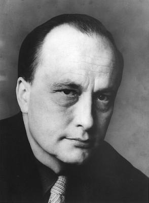 André Bjerke ( 30 January 1918 - 10 January 1985). Foto fra Aschehoug forlag.